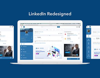 LinkedIn Redesigned
