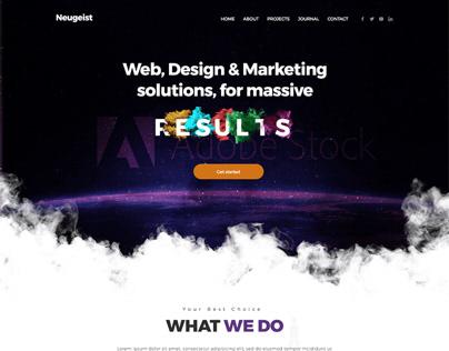 Design Agency for Online Marketing