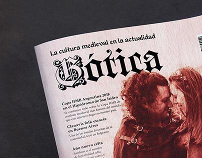 """Revista """"Gótica"""""""