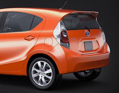 Car Renders 3D Rendering