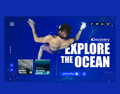 Discovery Channel | Show concept UX/UI