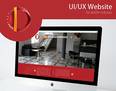 UX/UI Design for Textile Industry
