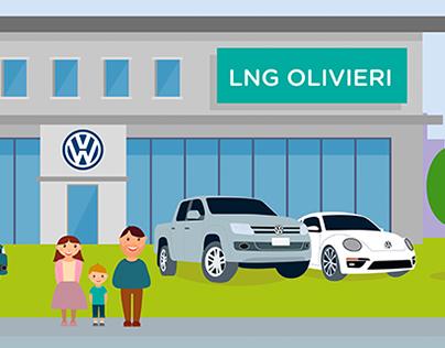 Ilustraciones comercial - LNG Olivieri
