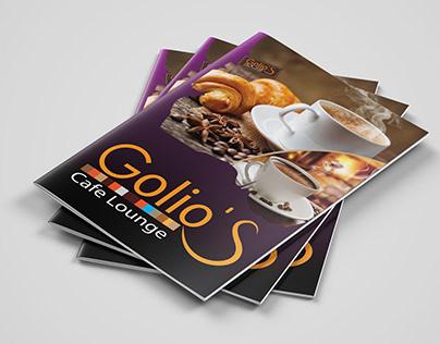 Menu Golio's Cafe Lounge
