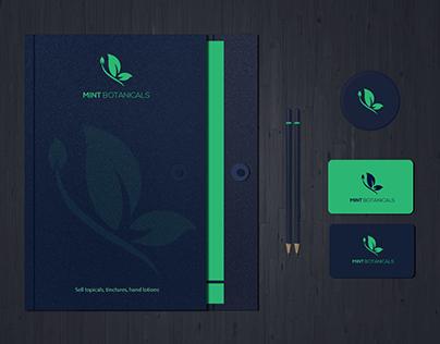 Mint Botanicals Logo and Branding