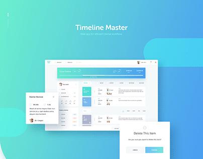 Timeline Mater - Web-App UI/UX