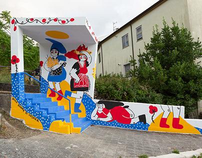 ALLE DONNE DI ORSARA_murales_Orsara di Puglia (Fg)\2019