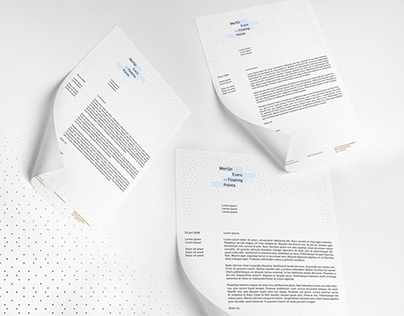 Martijn Evers — Floating Points, visual identity
