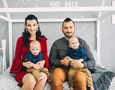 Таня&Алексей и их сыновья Герман&Марк