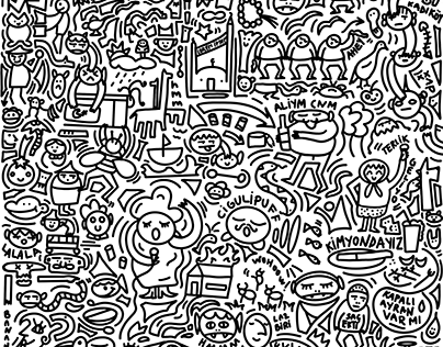 Istanbul Themed Doodle