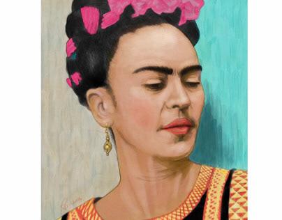 Frida Watercolor
