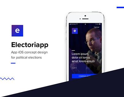 Electoriapp - App concept