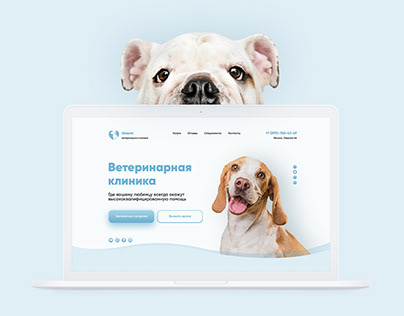 Landing page | Veterinary clinic