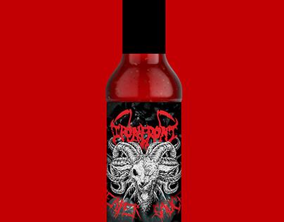 Reaper Sauce Label