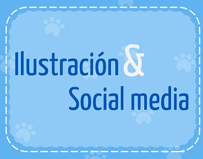 Social media - Fundaciónhuella animal