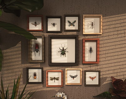 The Art of 3D Insects Challenge