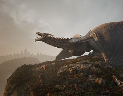 UE4 - Dragon landing
