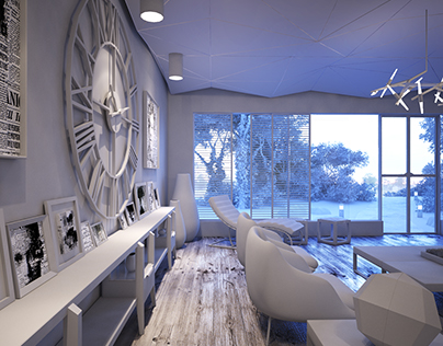 V E R A N D A . . . a casual dining-family space.