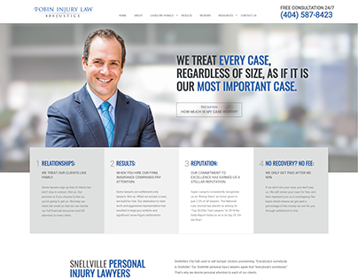 Snellville Personal Injury Lawyers | Tobin Injury Law