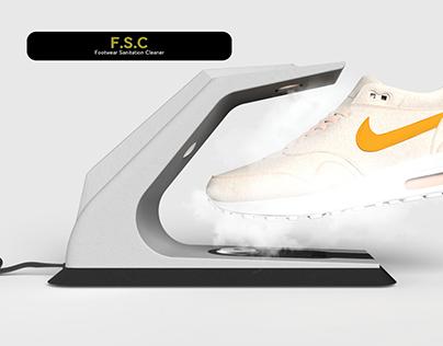 Footwear Sanitation cleaner