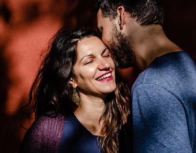 Caroline e Fábio - Sessão casal e gravidez