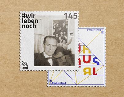 Bauhaus stamps
