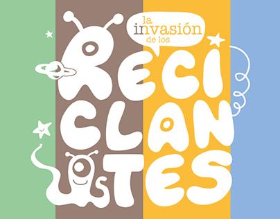 Naming, diseño e ilustración para cubos de reciclaje