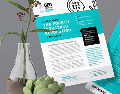 Perdana Leadership Foundation - CEO Forum 2019
