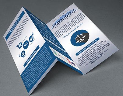 Brochure Design : Timpanogos Legal Center