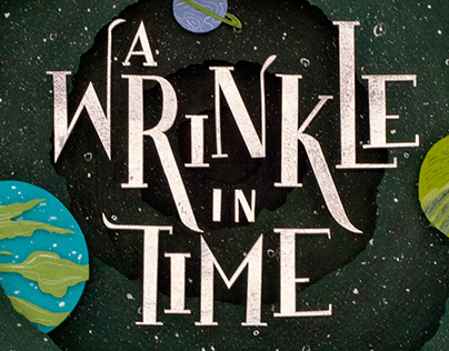 A Wrinkle in Time, book cover