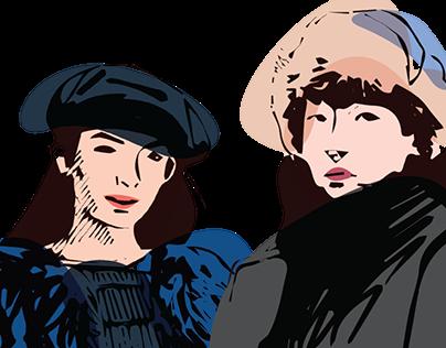 Japanese Fashion Illustration