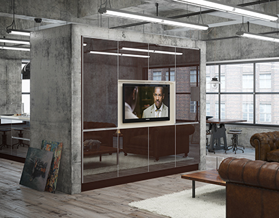 Glass cabinetry