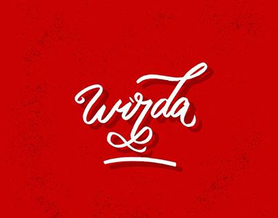 Lettering Wirda Hasanah