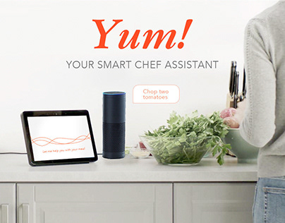 Voice User Interface - Yum! your smart chef assistant