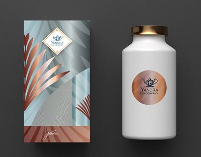 Packaging Yandra Tea Company
