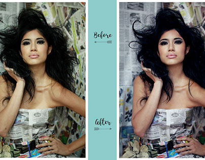 BEFORE & AFTER - RETOUCH