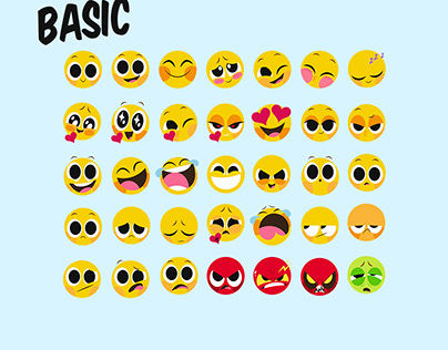basic smiley face for messengers
