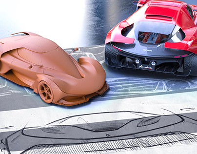 Ferrari APOCALISSE - personal project -