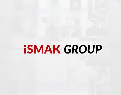 İsmak Group (İstanbul Makine) | UI & UX Work