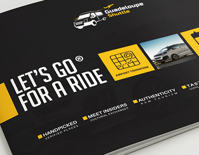 Let's Go For A Ride Travel Brochure