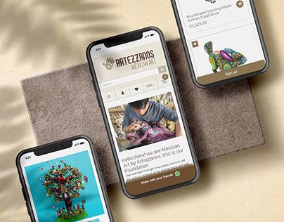 Artezzanos | Web Design