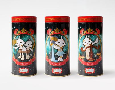 Packaged Design –《火星宮》十二星座鐵罐禮盒