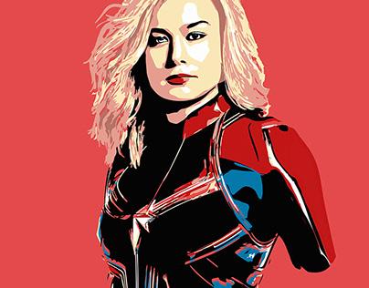 Marvel portraits, illustration draws.