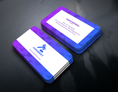 Free Adobe InDesign Business Card Template – Lawyer