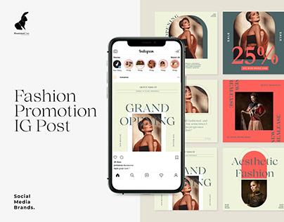 Fashion Promo Instagram Post