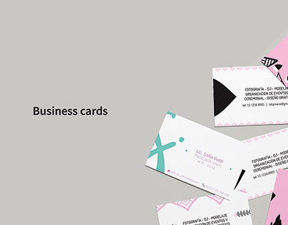 Business cards / Tarjetas personales