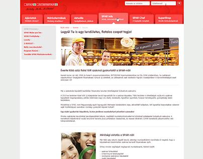 Spar Brandsite Redesign