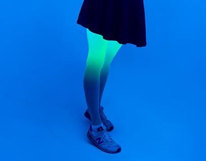 Neon Cyber Girl
