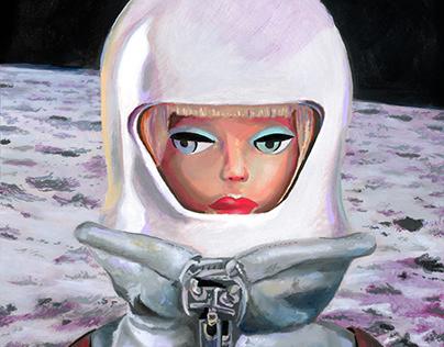 Astronaut Barbie
