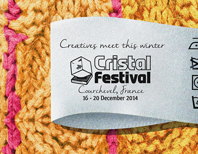 Cristal Festival Poster Contest Courchevel, France